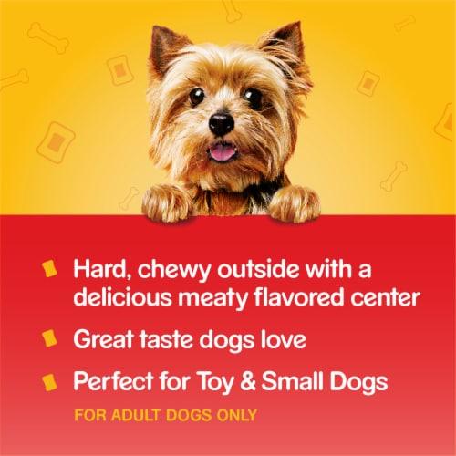 Pedigree Mini Jumbone Real Beef Flavor Dog Treats Perspective: right