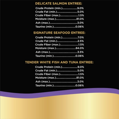 Sheba Perfect Portions Seafood Entree Pate Wet Cat Food Variety Pack Perspective: right