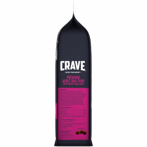 Crave Grain Free with Protein From Lamb & Venison Adult Dry Dog Food Perspective: right