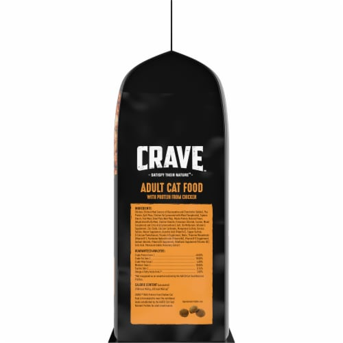 Crave Grain Free with Protein From Chicken Adult Cat Food Perspective: right