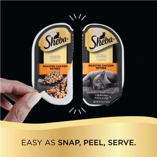 Sheba Perfect Portions Cuts in Gravy Wet Cat Food Variety Pack Perspective: right