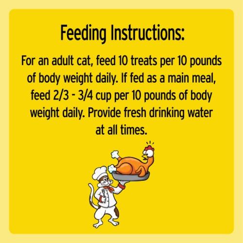 Temptations Jumbo Stuff Tasty Chicken Flavor Cat Treats Perspective: right