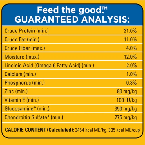 Pedigree Dry Chicken and Steak Flavor Small Dog Food Perspective: right