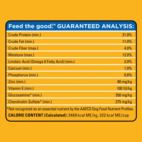 Pedigree® Small Dog Complete Nutrition Roasted Chicken Rice & Vegetable Flavor Adult Dry Dog Food Perspective: right