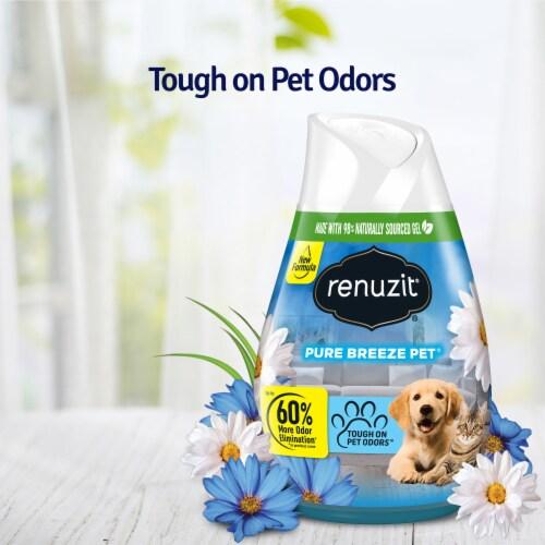 Renuzit®  2X Pure Breeze Gel Air Freshener Perspective: right