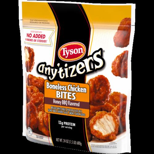 Tyson Any'tizers Honey BBQ Boneless Chicken Bites Perspective: right