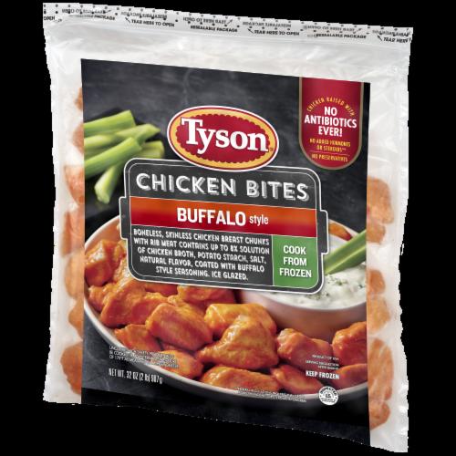 Tyson® Boneless Buffalo Chicken Bites Perspective: right