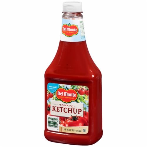 Del Monte Tomato Ketchup Squeeze Bottle Perspective: right