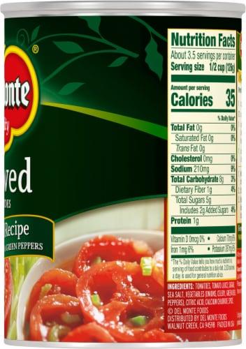 Del Monte® Original Recipe Stewed Tomatoes Perspective: right