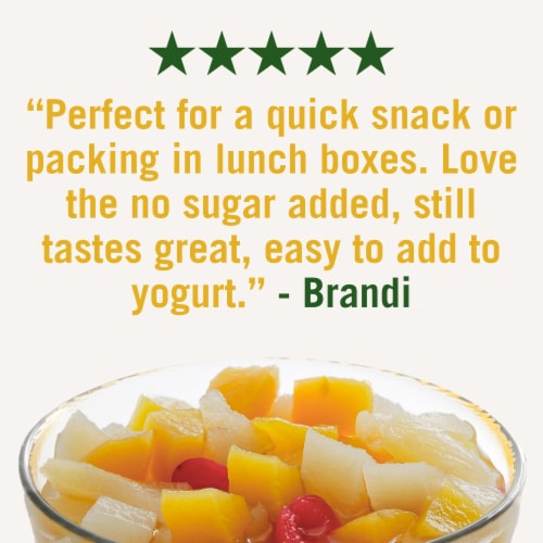 Del Monte Cherry Mixed Fruit Cups Perspective: right