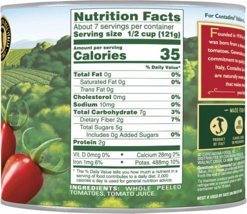 Contadina® San Marzano Style Whole Tomatoes Perspective: right