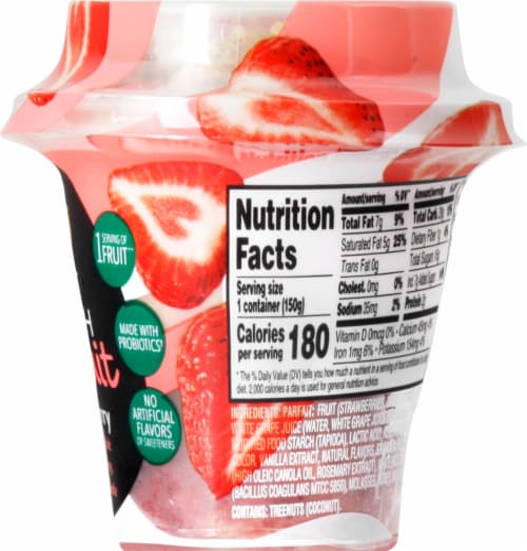 Del Monte Fruit Crunch Strawberry Parfait Perspective: right