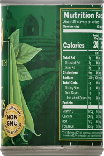 Del Monte Fresh Cut Blue Lake Petite Cut Green Beans Perspective: right