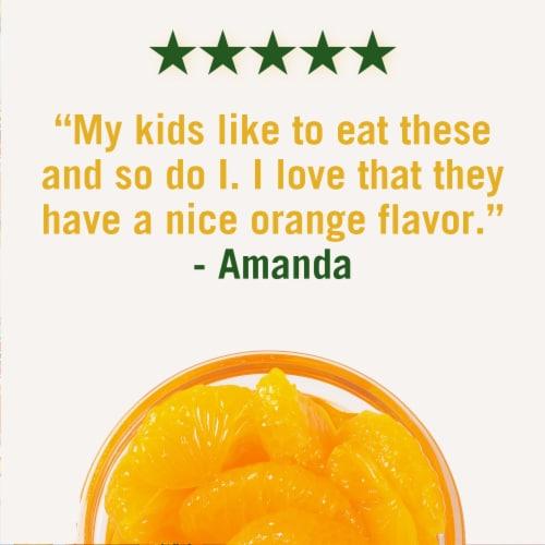 Del Monte No Sugar Added Mandarin Oranges Fruit Cups Perspective: right