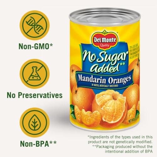 Del Monte No Sugar Added Mandarin Oranges Perspective: right