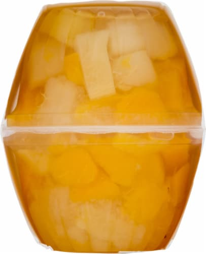 Del Monte No Sugar Added Mixed Fruit Cups 4 Count Perspective: right