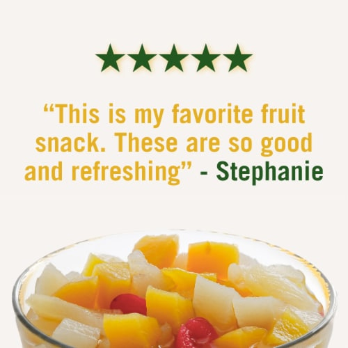 Del Monte Fruit Naturals Cherry Mixed Fruit Cup Perspective: right