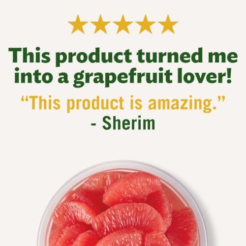 Del Monte Fruit Naturals No Sugar Added Red Grapefruit Fruit Cup Perspective: right