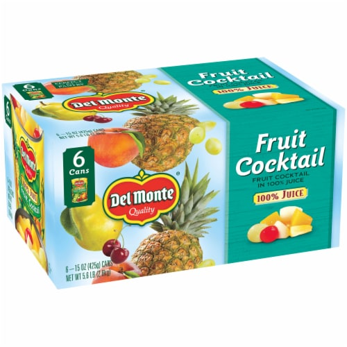 Del Monte Fruit Cocktail in 100% Juice Perspective: right