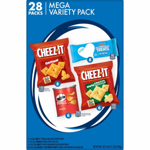 Cheez-It Snack Mega Variety Pack 28 Count Perspective: right