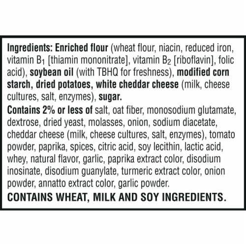 Cheez-It Snap'd Barbecue Flavored Cheesy Baked Snacks Perspective: right