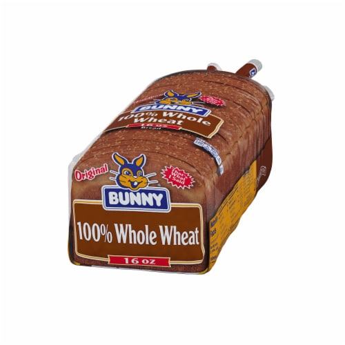 Bunny 100% Whole Wheat Bread Perspective: right