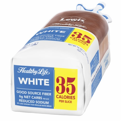 Healthy Life Low Calorie White Bread Perspective: right