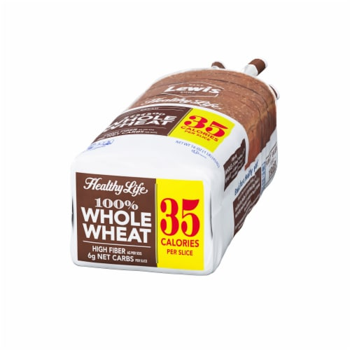 Healthy Life 100% Whole Wheat Bread Perspective: right
