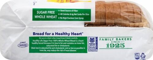 Healthy Life Sugar Free 100% Whole Grain Wheat Bread Perspective: right
