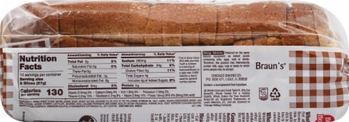 Butternut® 100% Whole Wheat Bread Perspective: right