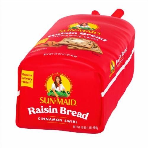 Sun-Maid Cinnamon Swirl Raisin Bread Perspective: right