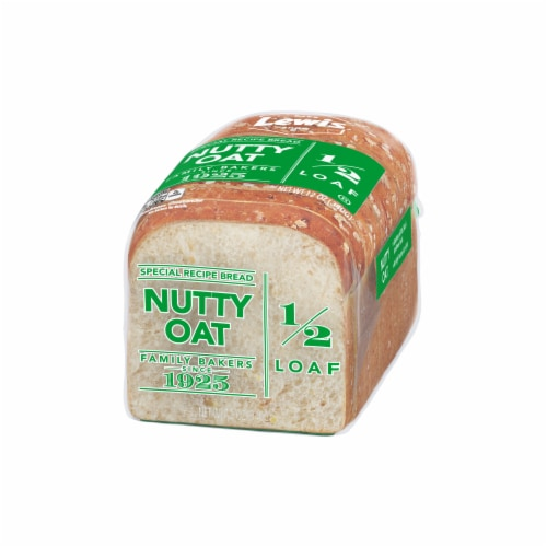 Lewis Bake Shop Half Loaf Nutty Oat Bread Perspective: right