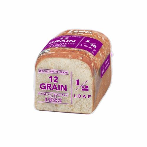 Lewis Bake Shop Half Loaf 12 Grain Bread Perspective: right