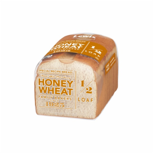 Lewis Bake Shop Half Loaf Honey Wheat Bread Perspective: right