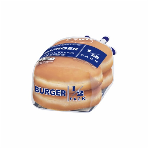 Lewis Bake Shop Burger Special Recipe Buns 1/2 Pack Perspective: right