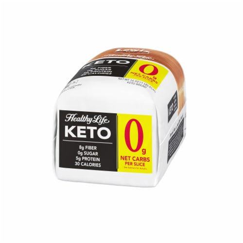 Lewis Bake Shop Healthy Life Keto Bread Perspective: right