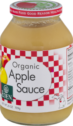 Eden Organic Apple Sauce Perspective: right