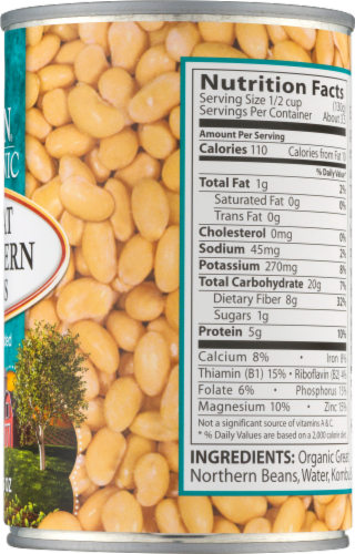 Eden Organic Great Northern Beans Perspective: right
