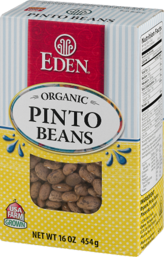 Eden Organic Pinto Beans Perspective: right