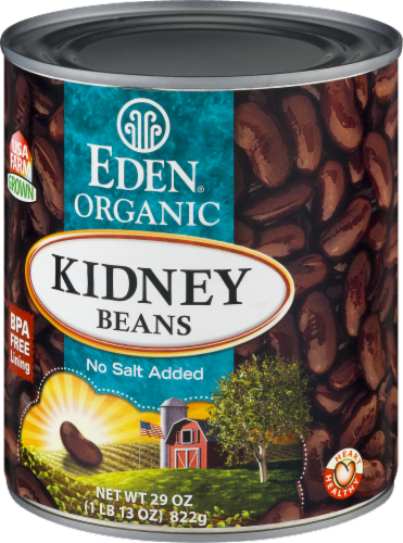 Eden Organic Kidney Beans Perspective: right