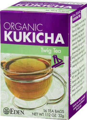 Eden Organic Kukicha Twig Tea Bags Perspective: right