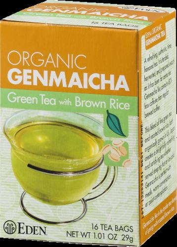 Eden Organic Genmaicha Green Tea Bags Perspective: right