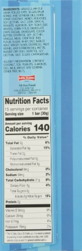 Sunbelt Bakery Chocolate Chip Chewy Granola Bars Value Pack Perspective: right