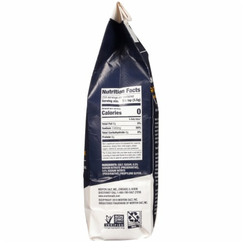 Morton Tender Quick Home Meat Cure Salt Perspective: right