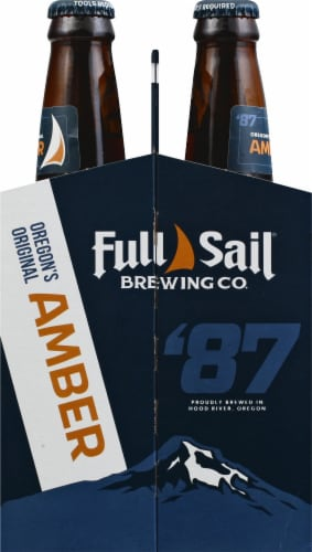 Full Sail Brewing Co. Amber Ale Perspective: right