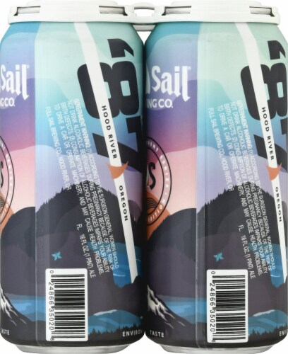 Full Sail Brewing Co. Haze of the Gods Double IPA Perspective: right
