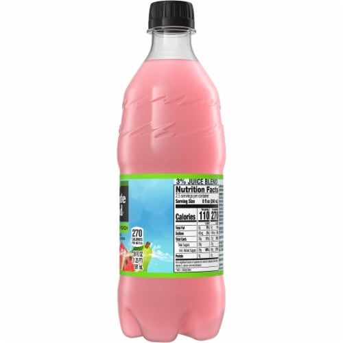 Minute Maid Watermelon Punch Fruit Juice Drink Perspective: right