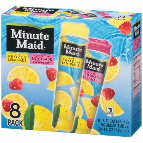 Minute Maid Soft Frozen Lemonade Variety Pack Perspective: right