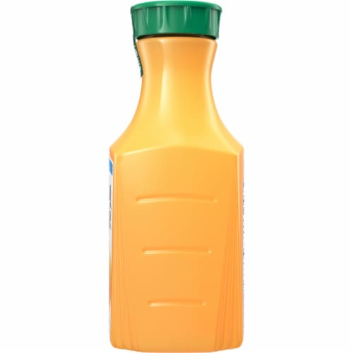 Simply Orange Pulp Free with Calcium & Vitamin D Orange Juice Perspective: right