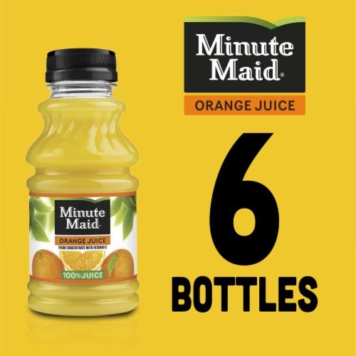 Minute Maid 100% Orange Juice Perspective: right